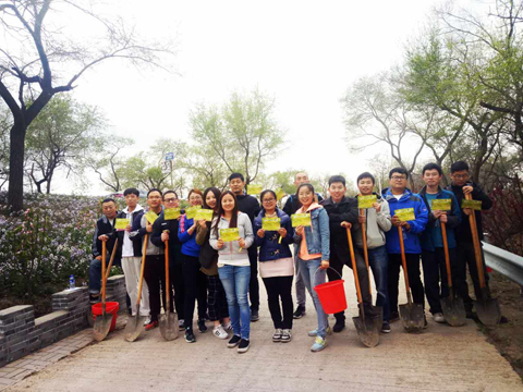 "BOMESC Party Committee organizes the ""Green Volunteer"" Tree Planting Activity"