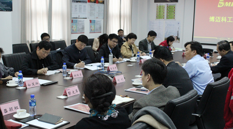 The Comprehensive Investigation Group of All China Federation of Industry and Commerce Visited the BOMESC