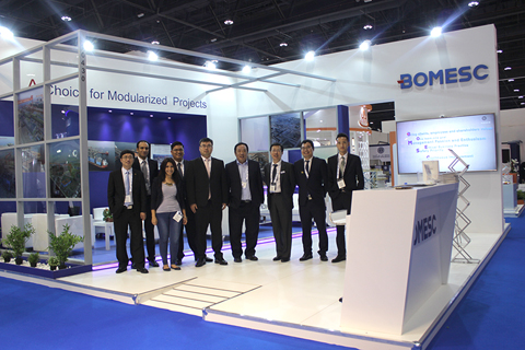 Time to Making a Difference at Such a Good Situation-- BOMESC Shows Attendance on ADIPEC